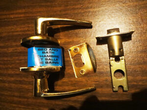 Door Knobs and Levers, All Brass
