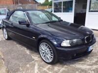 2001 51 BMW 3 SERIES 2.2 320CI 2D AUTO 168 BHP