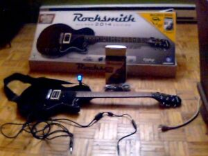 Rocksmith 2014 guitar bundle PC (cd key utulisé)