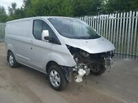 FORD TRANSIT CUSTOM LIMITED PARTS WANTED