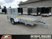 Sure-Trac 6x12 Galvanized high side / rampgate