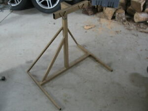 SNOWMOBILE STAND/LIFT $25