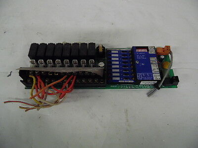 Energy Controls Serial Relay Control Board 87400 5120087400 Rev 2