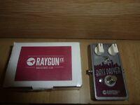 Raygun Bass Driver Pedal VGC