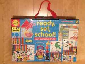 ALEX Toys Little Hands Ready, Set, School (never opened)