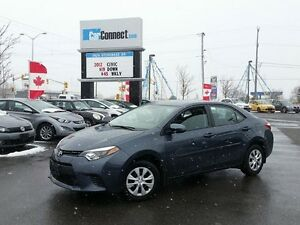 2015 Toyota Corolla LE, NOT A RENTAL! ONLY $19 DOWN $55/WKLY!!