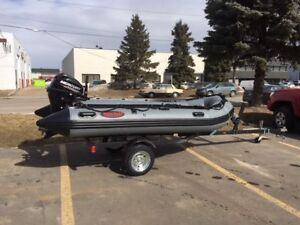 NEW INFLATABLE BOAT TRAILERS