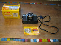 Vintage collectable 1960's 120 rollfilm camera, Diana F clone box & instructions toy camera plastic