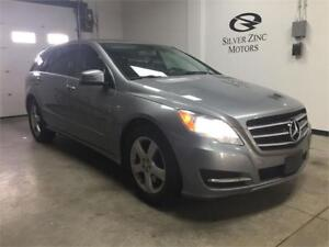 2011 Mercedes Benz R350 Bluetec, TV/DVD, 7 passenger