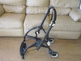 2016 Black Bugaboo Bee 3 Buggy Chassis. RRP £275