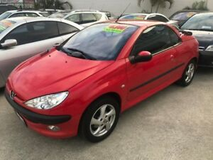 2002 Peugeot 206 T1 MY02 CC Red 5 Speed Manual Cabriolet Welshpool Canning Area Preview