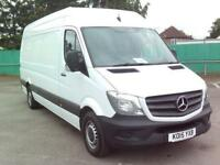 Mercedes-Benz Sprinter 313 LWB H/R EURO 5 DIESEL MANUAL WHITE (2015)