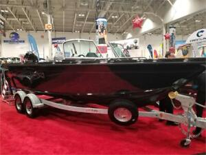 2019 2075 Tyee Magnum with Merc 250 Pro XS Shorelander trailer