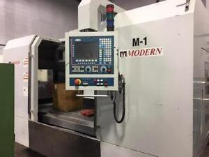 Modern VM-1300, Vertical Machining Center, Made by Buffalo Machinery, Taiwan