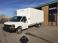 2015 GMC Savana 16' CUBE VAN - UNICELL *WE FINANCE AND LEASE*