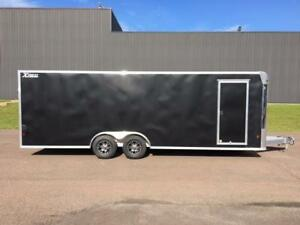 NEW 2018 XPRESS 8' x 24' ALUMINUM ENCLOSED TRAILER