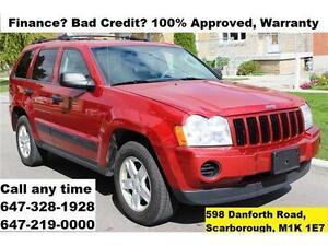 2005 Jeep Grand Cherokee Laredo Auto 4X4 FINANCE WARRANTY MINT