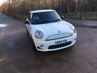09 MINI ONE 1.4 petrol 53200 miles £3799