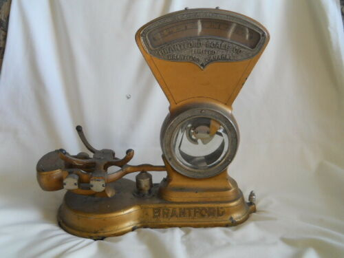 ANTIQUE/VINTAGE BRANTFORD SCALE CO. CANADA SCALE PROJECT