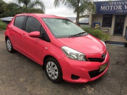 2013 Toyota Yaris YRS Pink Automatic Hatchback
