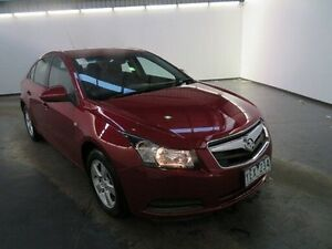 2010 Holden Cruze JG CD Burgundy 6 Speed Automatic Sedan Albion Brimbank Area Preview