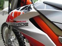 KTM 250 FREERIDE EXC 2014 ENDURO ROAD REGISTERED GREEN LANE @ RPM OFFROAD