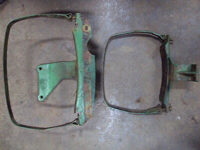 John Deere 530 Gas Tank Supports