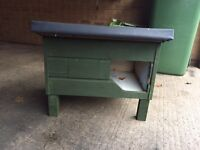 WOODEN CAT HOUSE RABBIT HUTCH SHELTER KENNEL