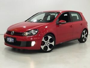 2011 Volkswagen Golf VI MY11 GTI DSG Red 6 Speed Sports Automatic Dual Clutch Hatchback Edgewater Joondalup Area Preview