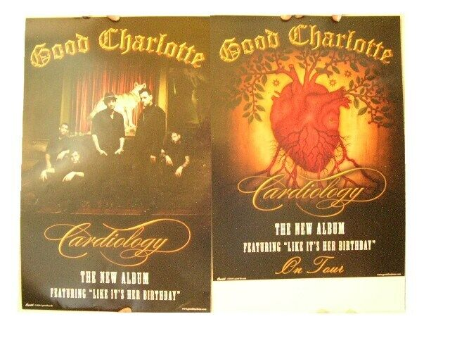Good Charlotte 2 Sided Poster Cardiology