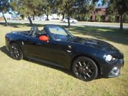 2016 Abarth 124 348 Spider Launch Edition Black 6 Speed Sports Automatic Roadster Rockingham Rockingham Area Preview