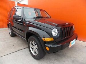 2006 Jeep Cherokee KJ MY2006 Renegade Black 5 Speed Automatic Wagon Broadview Port Adelaide Area Preview