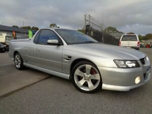 2005 Holden Commodore VZ SSZ Silver 4 Speed Automatic Utility Pooraka Salisbury Area Preview