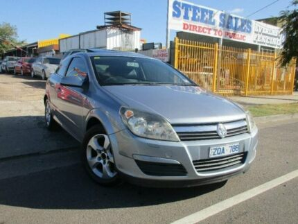 2005 Holden Astra AH MY06 CDX Silver 5 Speed Manual Coupe Laverton Wyndham Area Preview