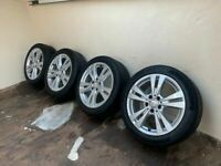 Genuine Mercedes Alloys alloy Wheels 225/45/17