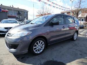 2009 MAZDA5 GS (MANUELLE, 6 PASS, CRUISE, FULL, IMPÉCCABLE!!!)