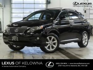 2011 Lexus RX 350 Touring w/Heated and Cooled Seats