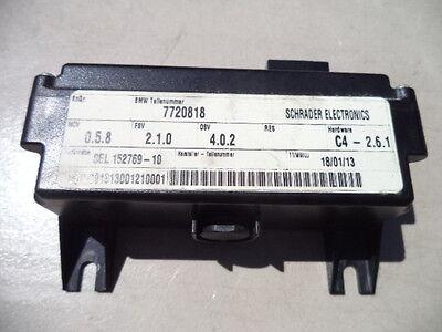 BMW F800GT CONTROL UNIT RDC 7 720 818  SCHRADER ELECTRONICS C4 - 2.6.1 F800 GT