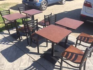 Restaurant Tables & Chairs