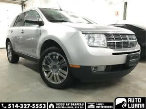 2009 Lincoln MKX AWD/ SENSOR/PANO/MAGS/CUIR/BLTH/S.CHAUFF/PROPRE