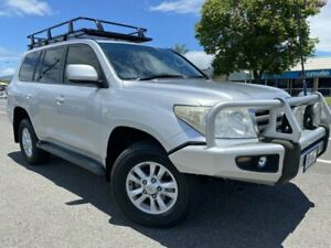 2008 Toyota Landcruiser VDJ200R VX Silver 6 Speed Sports Automatic Wagon Bungalow Cairns City Preview