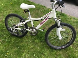 Child's Giant Areva 7spd Mountain bike