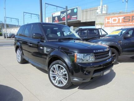 2010 Land Rover Range Rover Sport L320 10MY V8 Luxury Black Auto Sports Mode Wagon