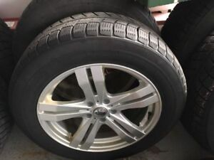 235/60/18 Aftermarket Winter Tires and Rims with ford TPMS