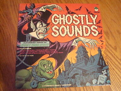 70'S GHOSTLY SOUNDS HALLOWEEN  RECORD LP NEW SEALED](Halloween Sounds Record)