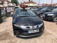 2009 Honda Civic AUTOMATIC, 5 DOOR, 5 SEATER, 1.4 i-VTEC i-Shift, 07506507253