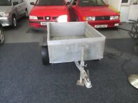4/3 metal box trailer good condition £50 no offers