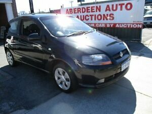 2006 Holden Barina TK MY07 Black 5 Speed Manual Hatchback West Perth Perth City Area Preview
