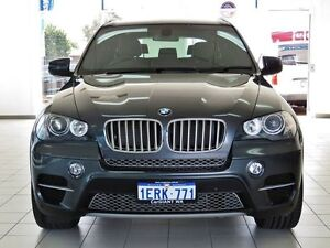 2011 BMW X5 E70 MY10 xDrive 40D Sport Grey 8 Speed Sequential Auto Wagon Morley Bayswater Area Preview