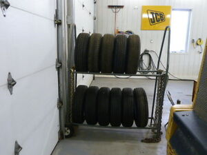 ( NEW) Tires & Rims( RADIAL)Trailer Tires (Last of tires)